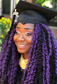 Teerra Gillespie, 2021 Scholarship recipient
