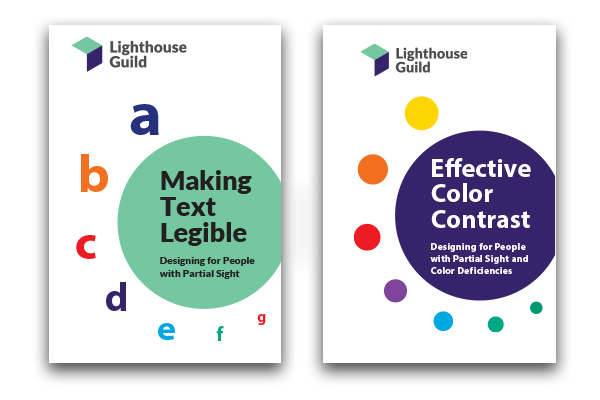 Legibility and Contrast booklets
