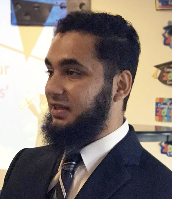Muhammad Abubakar, scholarship recipient